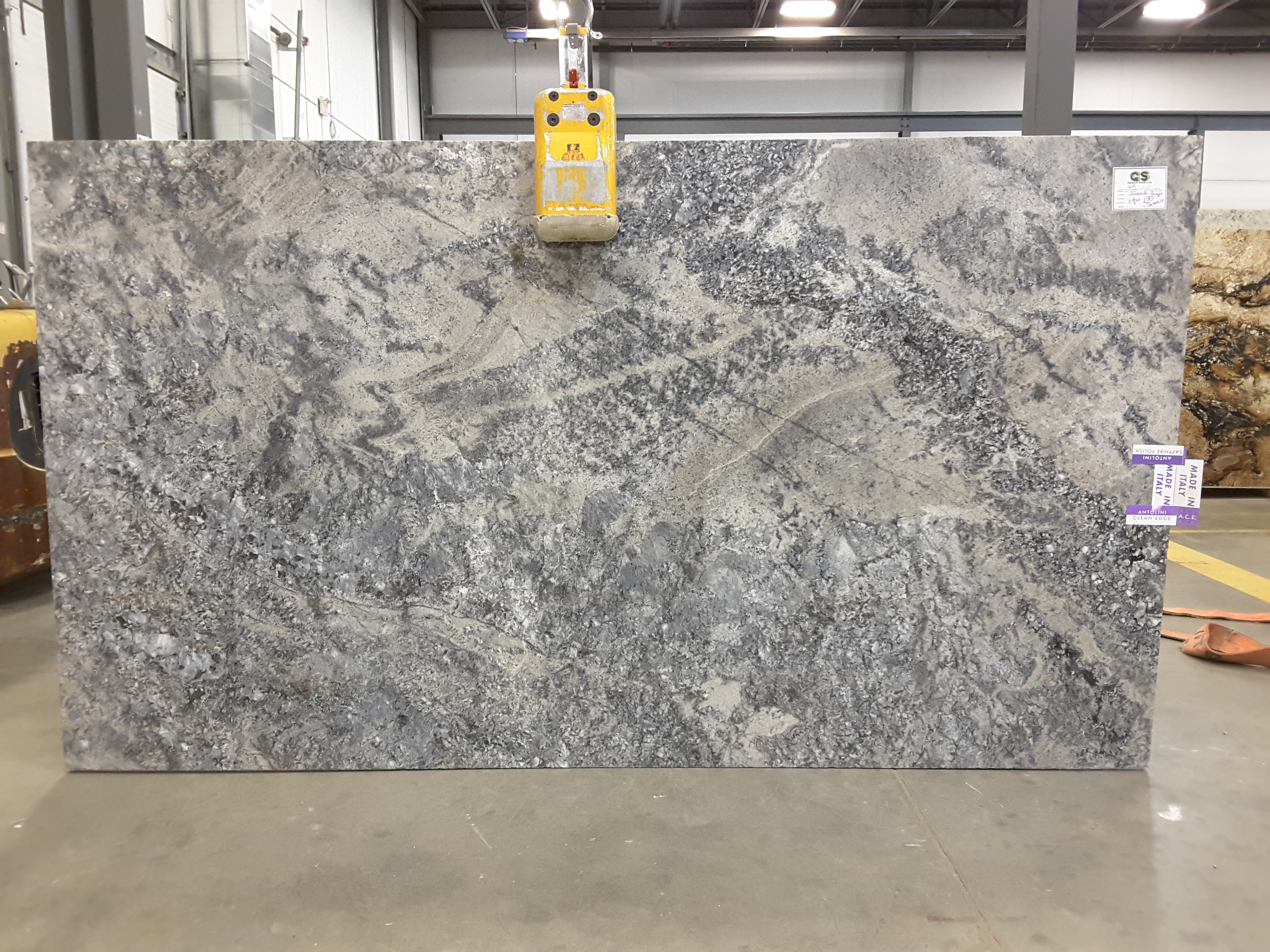 Azul Aran Original Granite Slab 30Mm