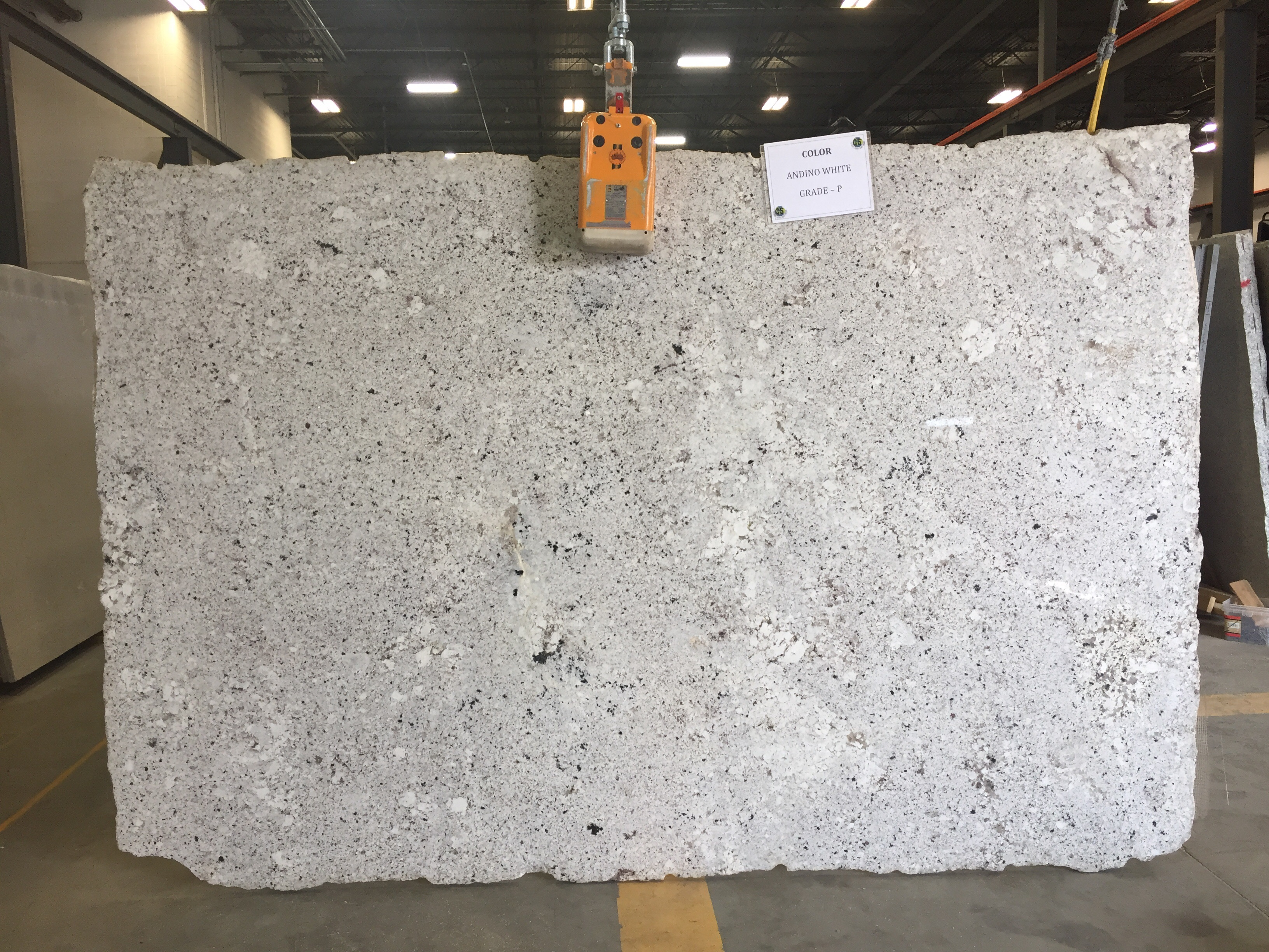 Andino White Granite Slab 30Mm