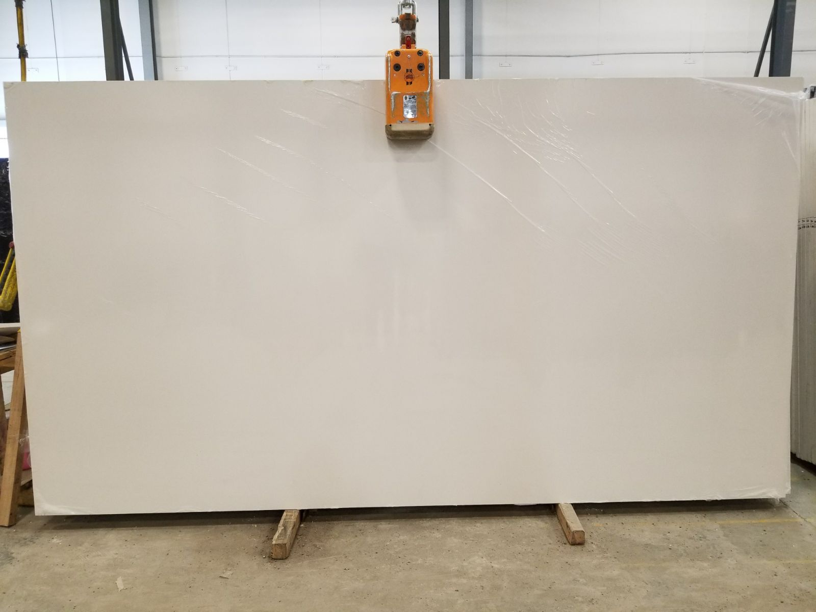Absolute White Super Jumbo Quartz Slab 30 Mm