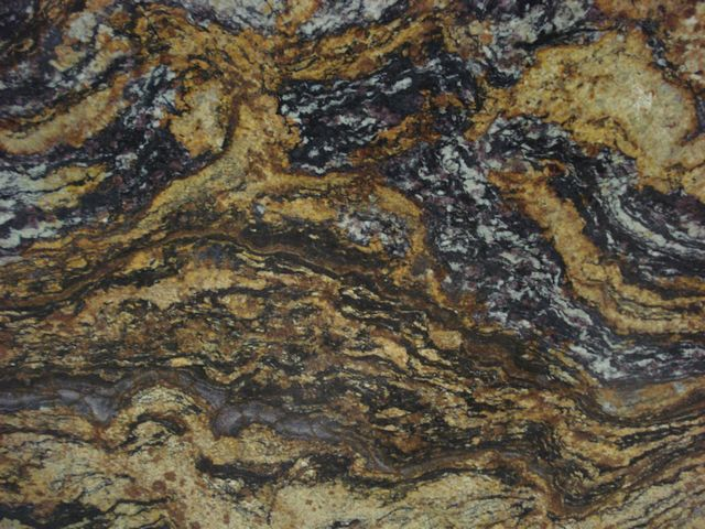 SUN BROWN GRANITE SLAB 30MM
