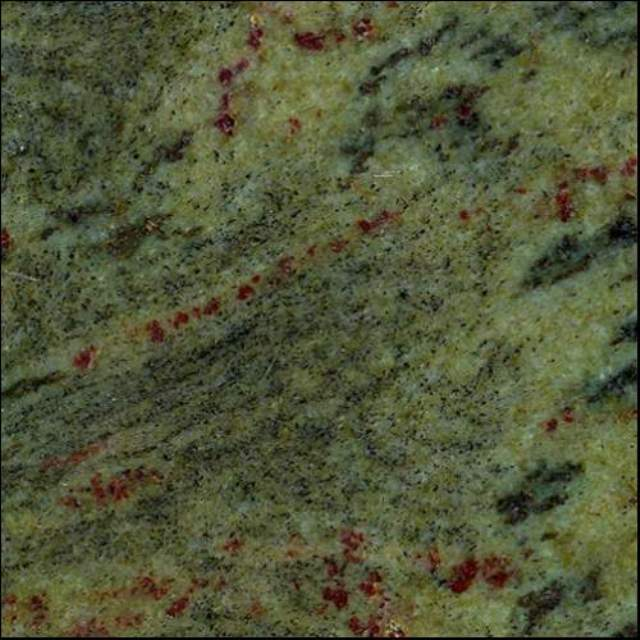 TROPICAL GREEN GRANITE SLAB 30MM