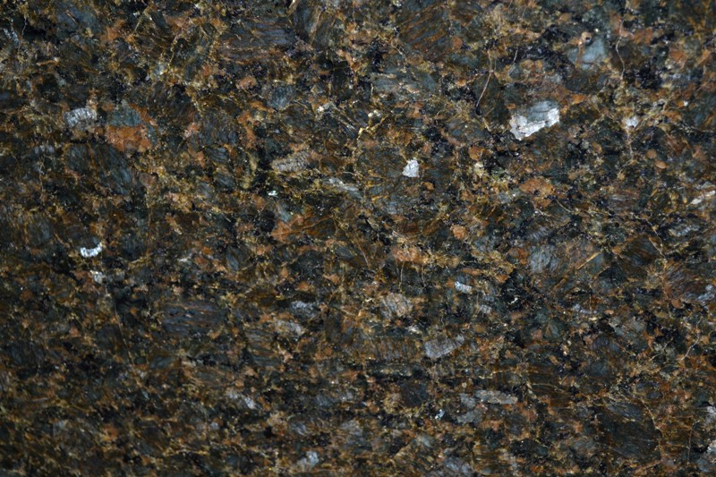 PEACOCK GREEN GRANITE SLAB 30MM