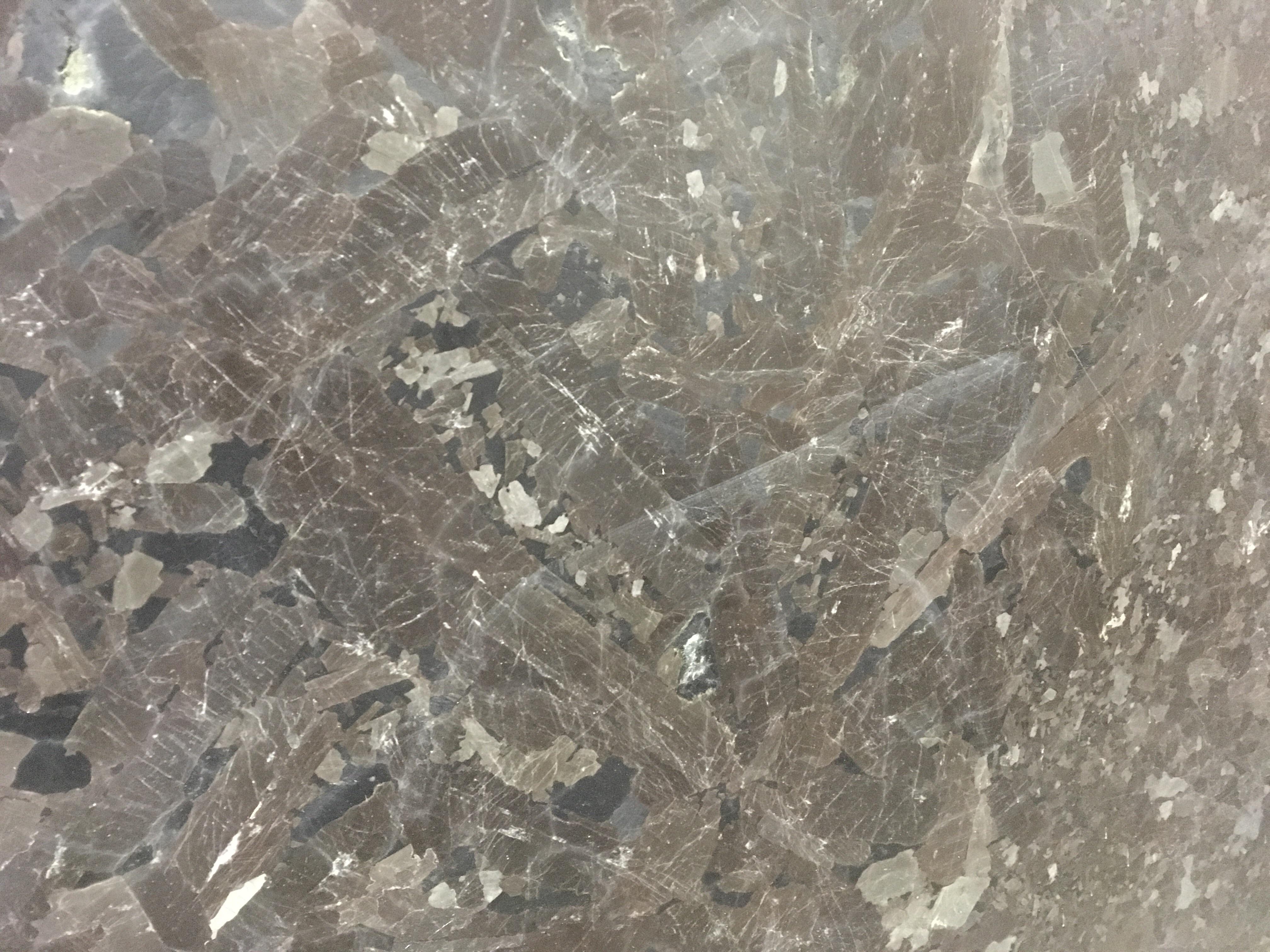 Antique Brown Leather Finish Granite Slab 30Mm