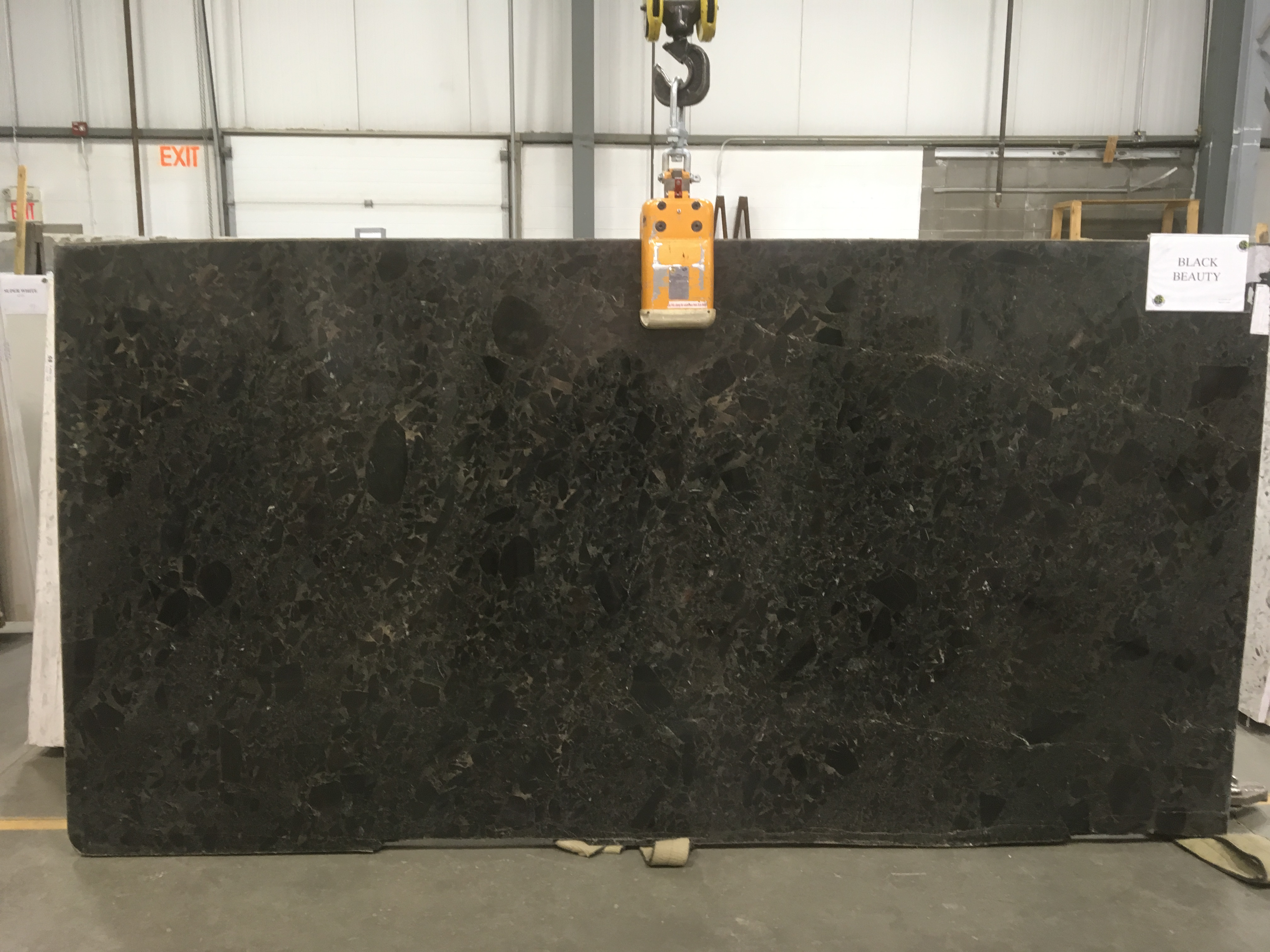 Black Beauty Quartzite Slab 30Mm