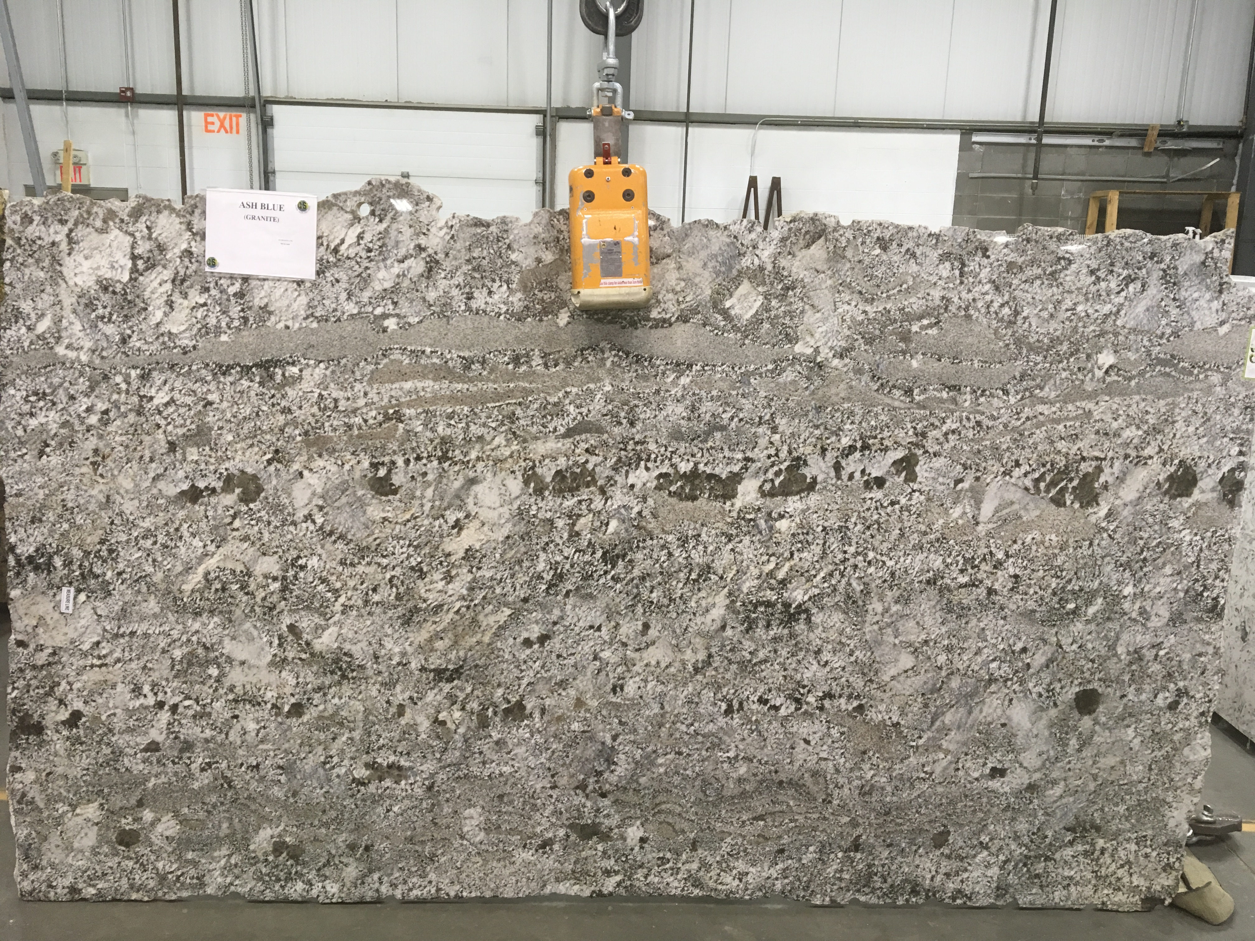Ash Blue Granite Slab 30Mm