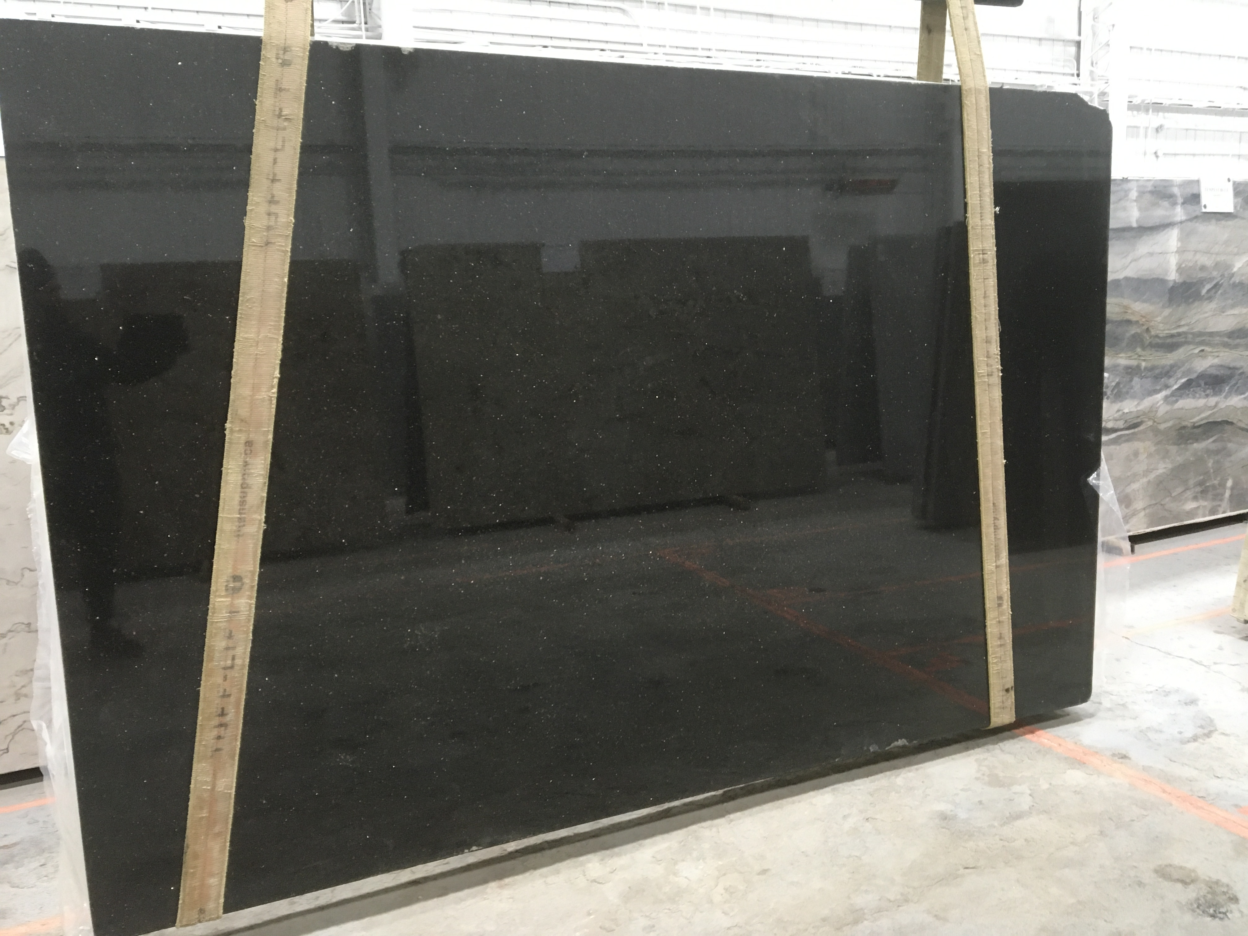 Black Galaxy Granite Slab 30Mm