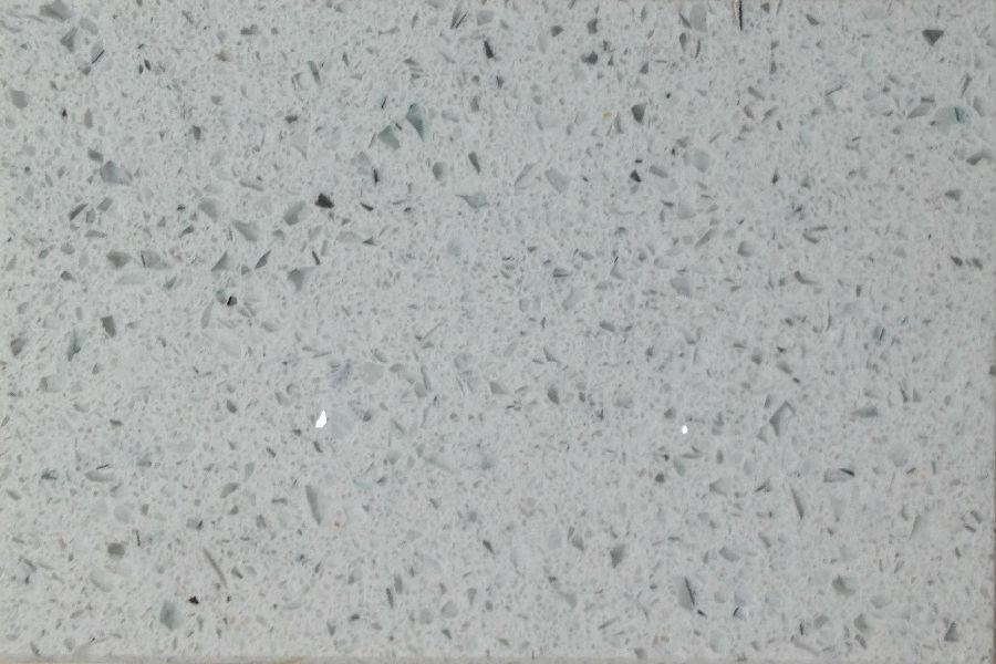 Bianco Galaxy Quartz Slab 30Mm