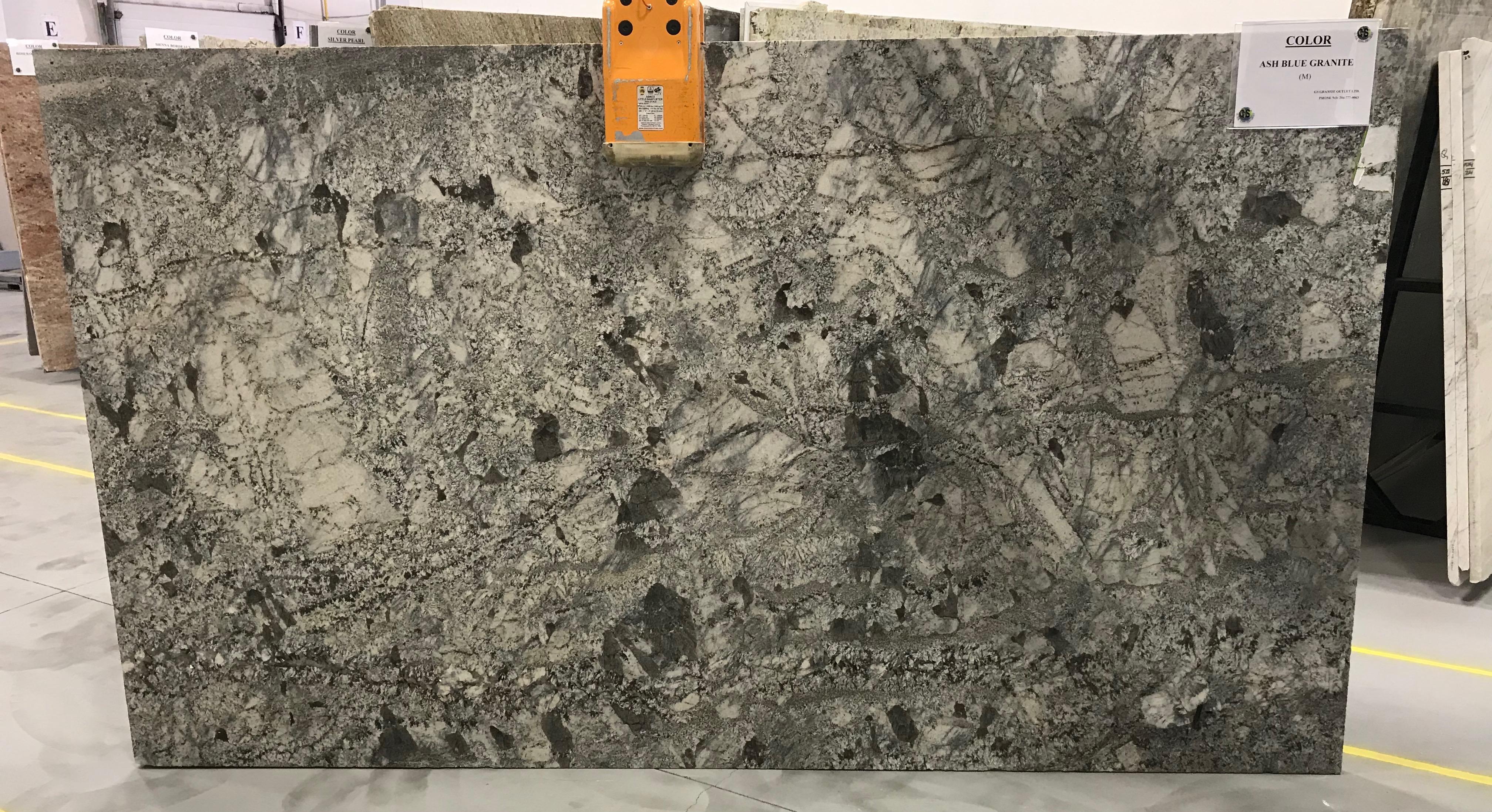 Ash Blue Granite Slab 30Mm