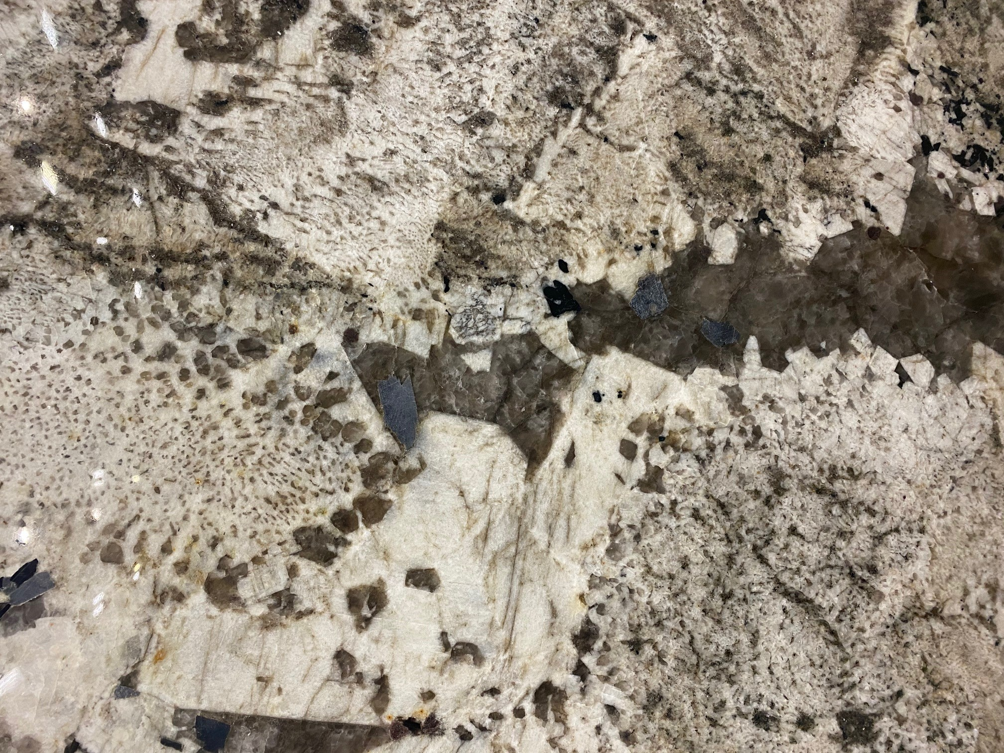 Alpine White Granite Slab 30Mm