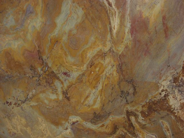 YELLOW BAMBOO QUARTZITE SLAB 30MM