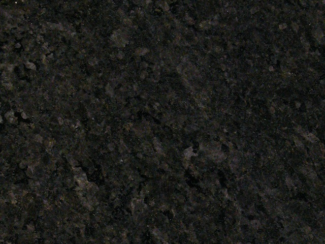 Black Pearl Leather Finish Granite Slab 30Mm