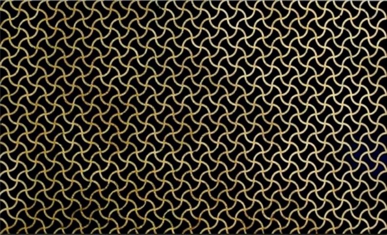 ABSOLUTE BLACK GRANITE SLAB WAVE GOLD DESIGN 20MM