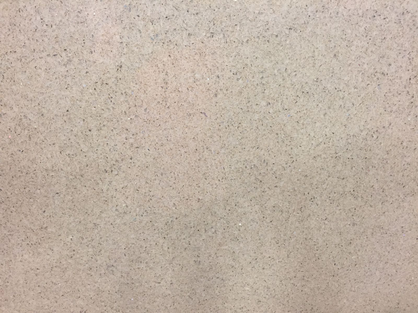 Beige Galaxy Quartz Slab 30Mm