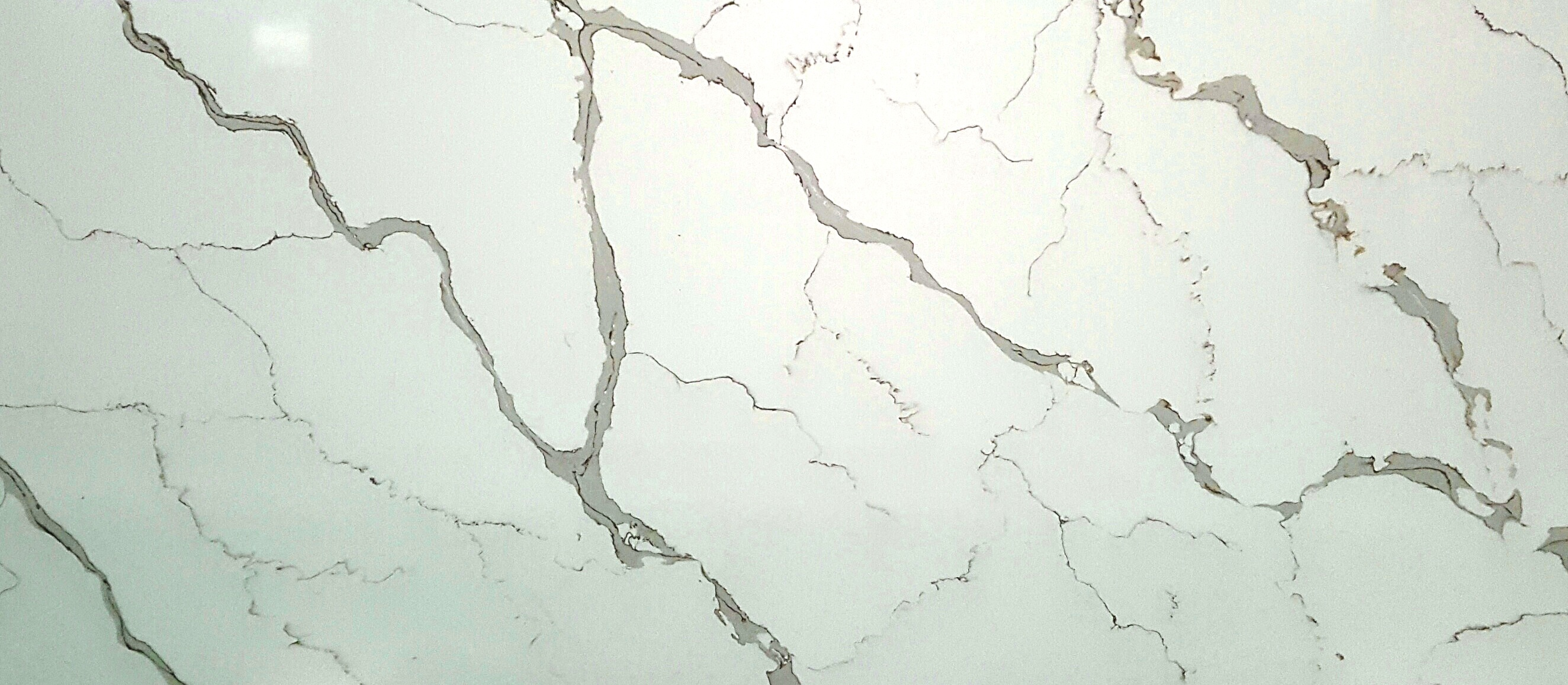 Calacatta Bianca Quartz Slab 30Mm